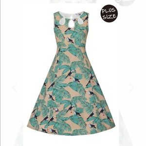 NWT toucan dress banned apparel
